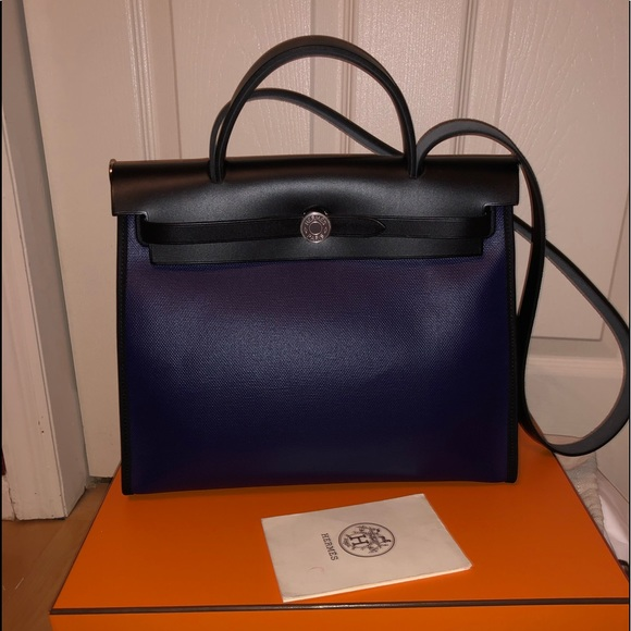 dd01892bab7 Hermes Bags   Herms Herbag Coated Canvas   Poshmark